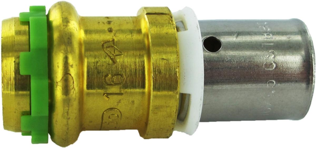Adaptateur à Sertir Tube Per 20 X 19 Vers Cuivre Diamètre 18 Comap Pexpress