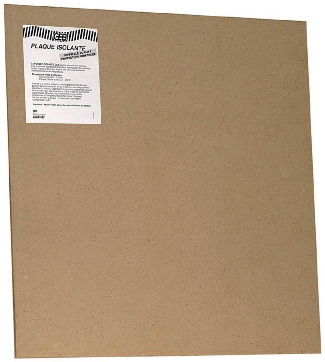 plaque d 39 isolation thermique et protection au feu 1000 mm. Black Bedroom Furniture Sets. Home Design Ideas