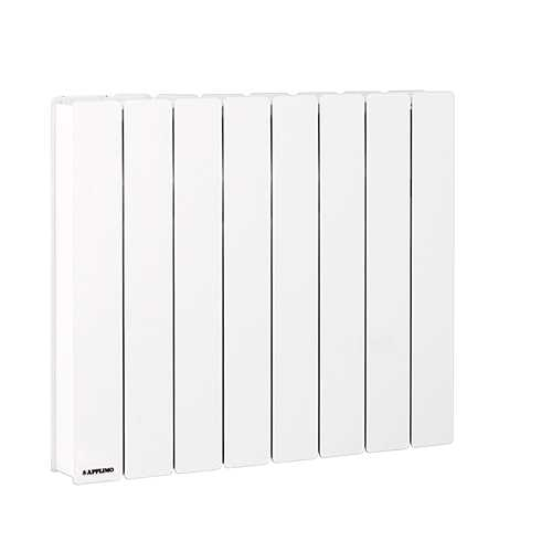 radiateur inertie applimo pegase 2 750w bas blanc. Black Bedroom Furniture Sets. Home Design Ideas