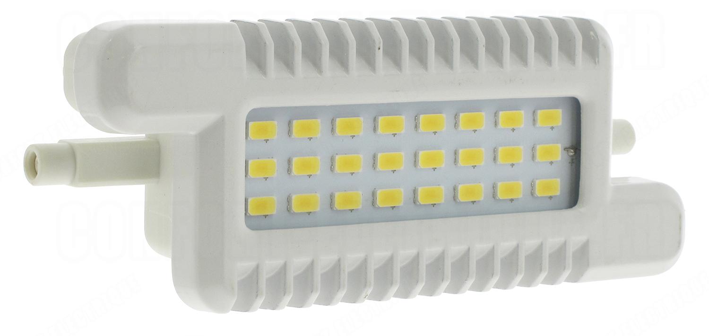 ampoule led aric r7s 8w 600lm 4000k 118mm 43 70. Black Bedroom Furniture Sets. Home Design Ideas