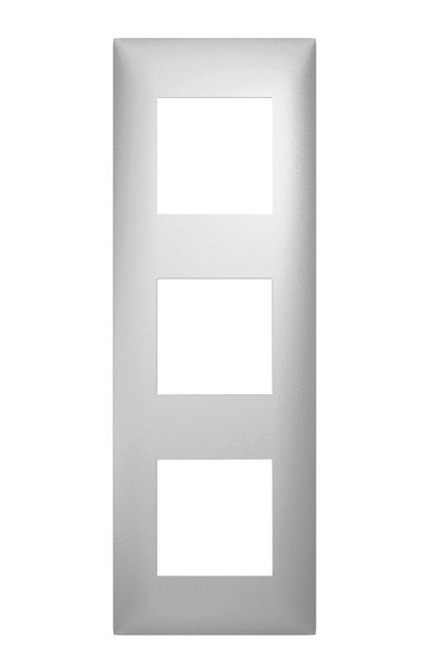 plaque 3 postes arnould espace evolution aluminium 8 65. Black Bedroom Furniture Sets. Home Design Ideas