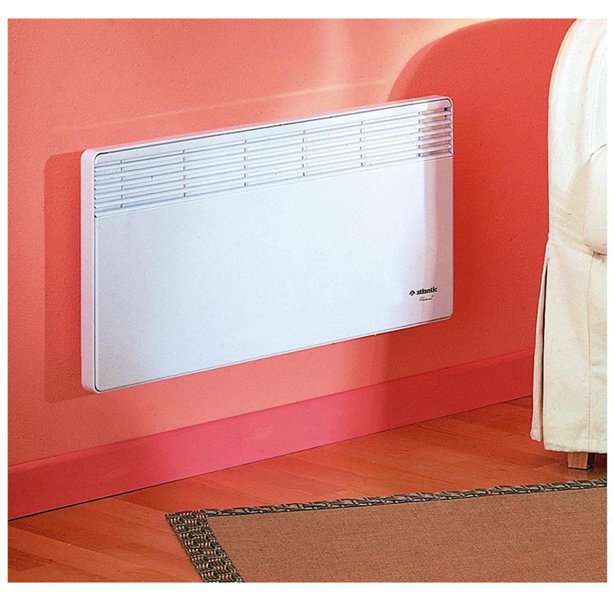 convecteur lectrique atlantic f18 plinthe 1000 watts blanc. Black Bedroom Furniture Sets. Home Design Ideas