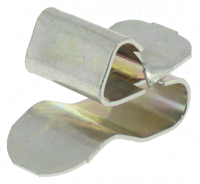 clips bord de t le pour cable ou gaine de 6 9 mm 32 74. Black Bedroom Furniture Sets. Home Design Ideas