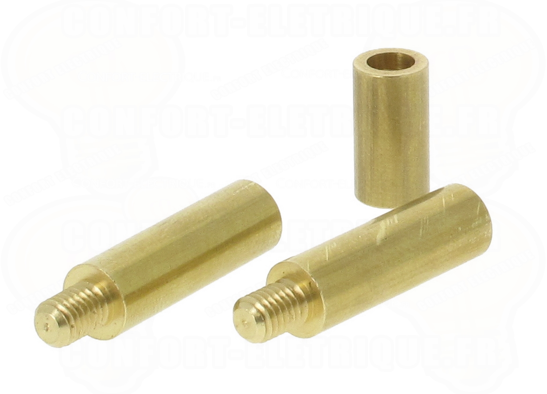 Kit de r paration pour aiguille en fibre de verre diam 6mm for Aiguille pour passage de cable