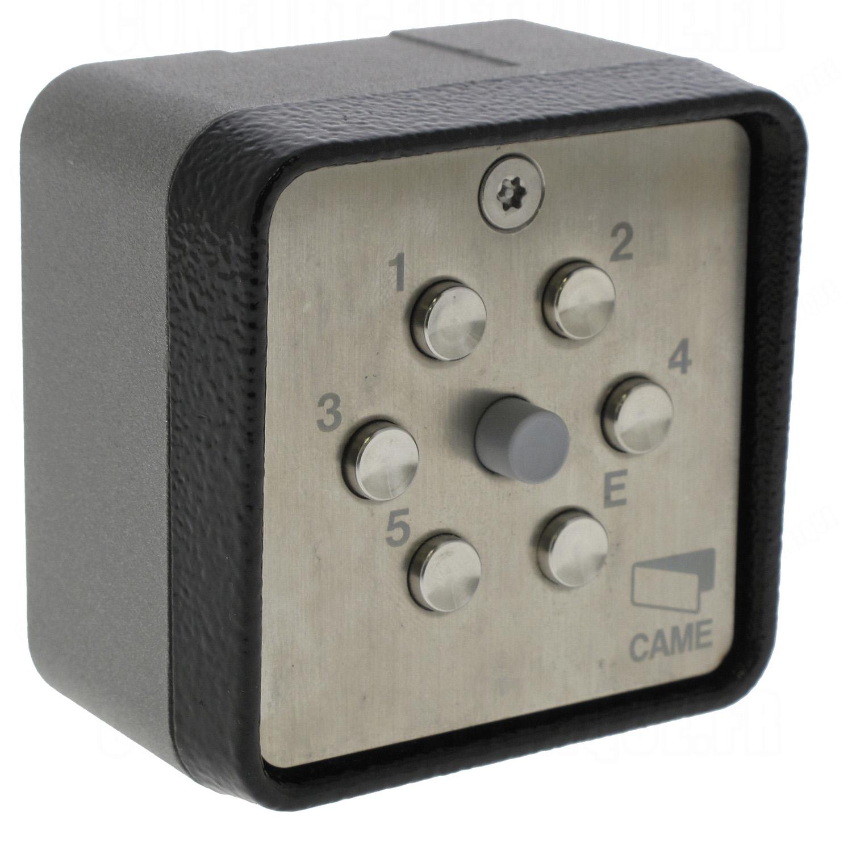 Clavier code came s9000 saillie sans fil 147 05 for Digicode sans fil pour porte de garage