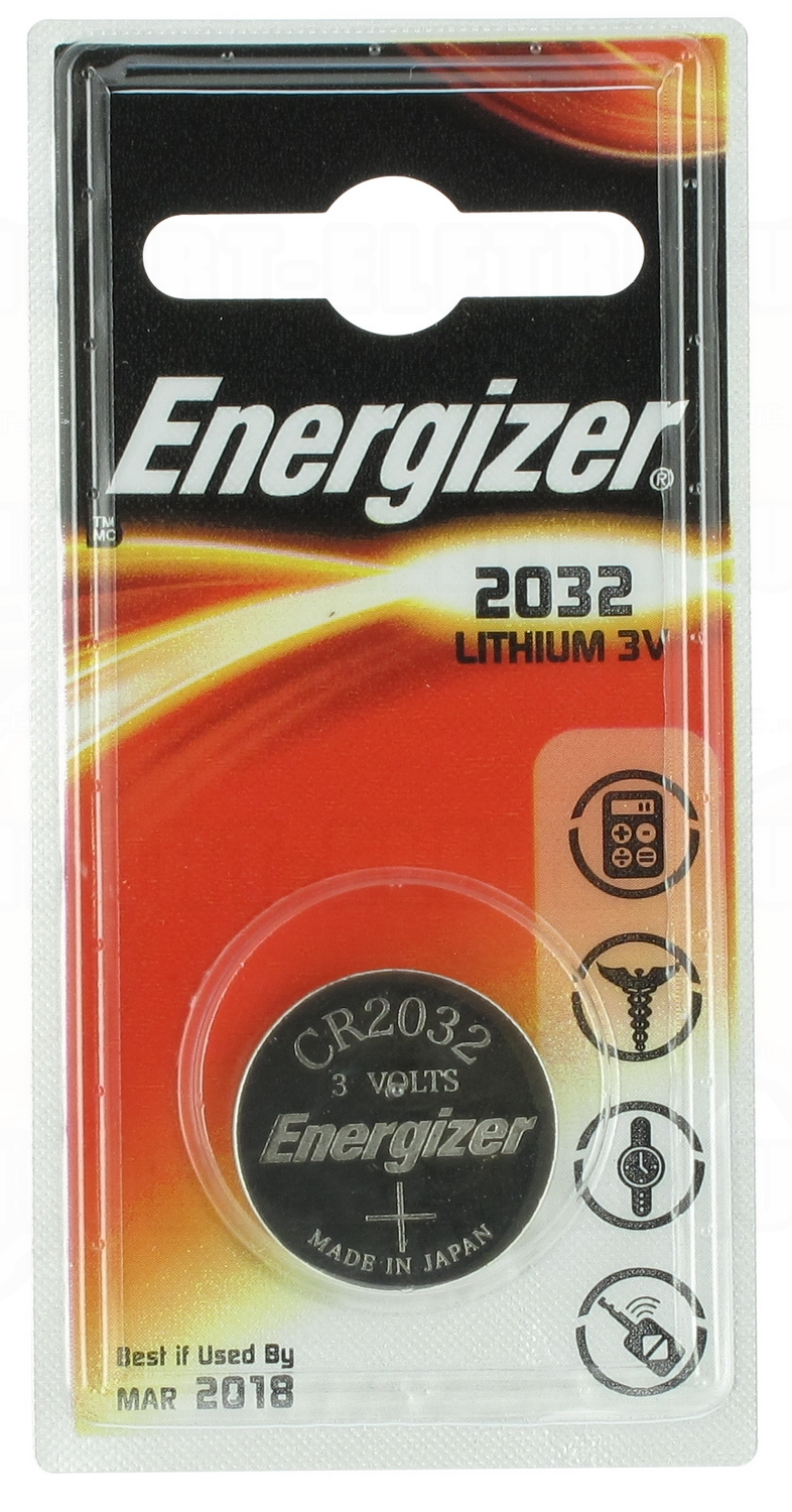 pile cr2032 3v energizer au lithium 3 00. Black Bedroom Furniture Sets. Home Design Ideas