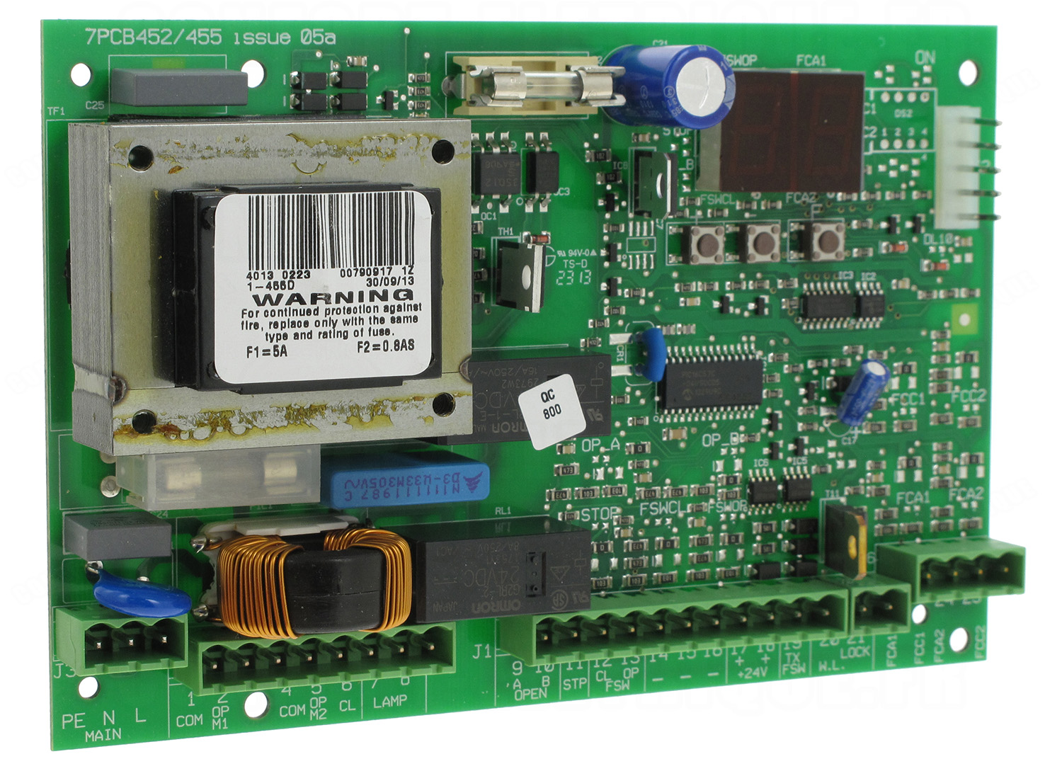 7pcb452 455 issue 05a manual