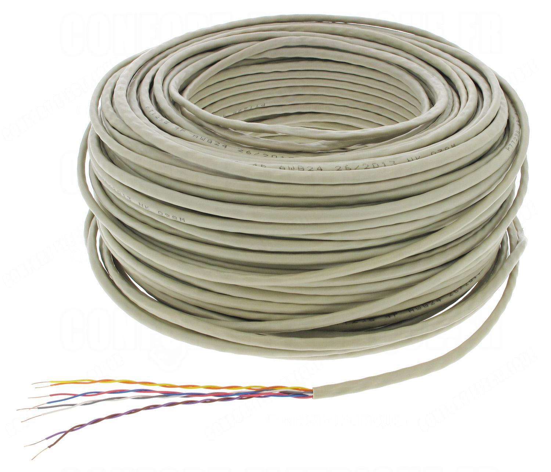 Cable t l phone 4 paires 5 10 couronne de 100 m tres 5 for Cable de telephone exterieur