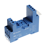 Support finder série 94843 pour relais miniatures 55.32 et 55.34
