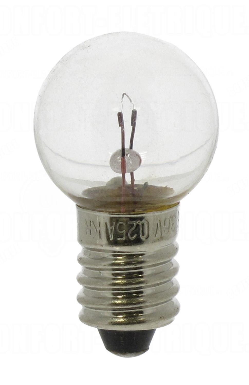 ampoule culot e10 3 6v 0 9w 6 73. Black Bedroom Furniture Sets. Home Design Ideas