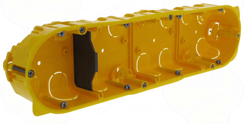 boite cloison s che 8 10 modules profondeur 40 mm legrand ba. Black Bedroom Furniture Sets. Home Design Ideas