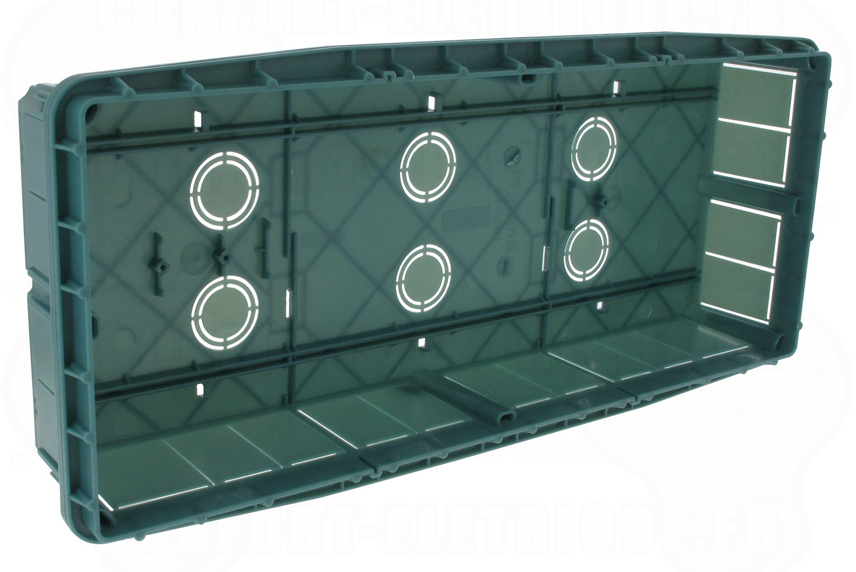 bo te de d rivation sceller 400 x 180 x 70 avec couvercle. Black Bedroom Furniture Sets. Home Design Ideas