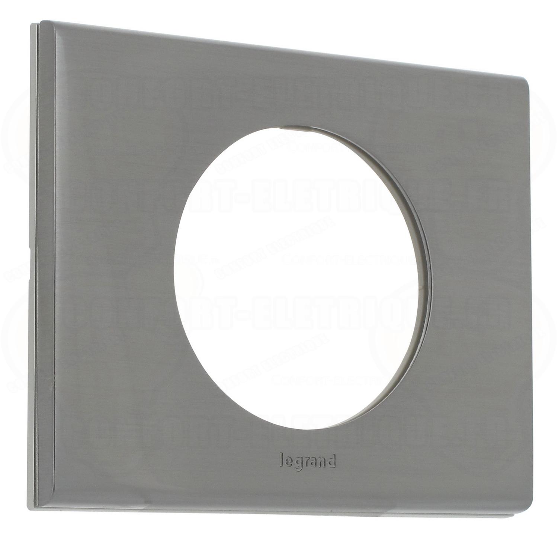 Plaque c liane 1 poste inox bross 27 05 for Plaque inox brosse