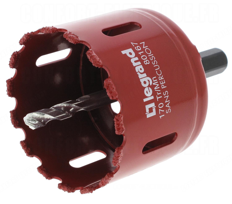 Diametre Scie Cloche Prise De Courant scie cloche carbure de tungstène diamètre 67 mm - 100,14€