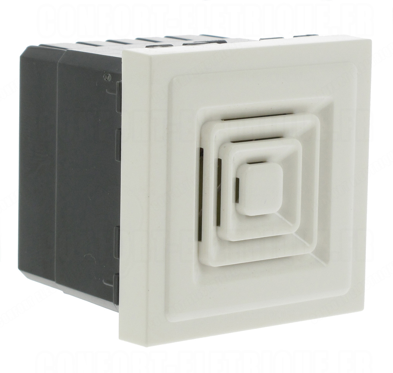 ronfleur 230v blanc 2m legrand mosaic 37 42. Black Bedroom Furniture Sets. Home Design Ideas