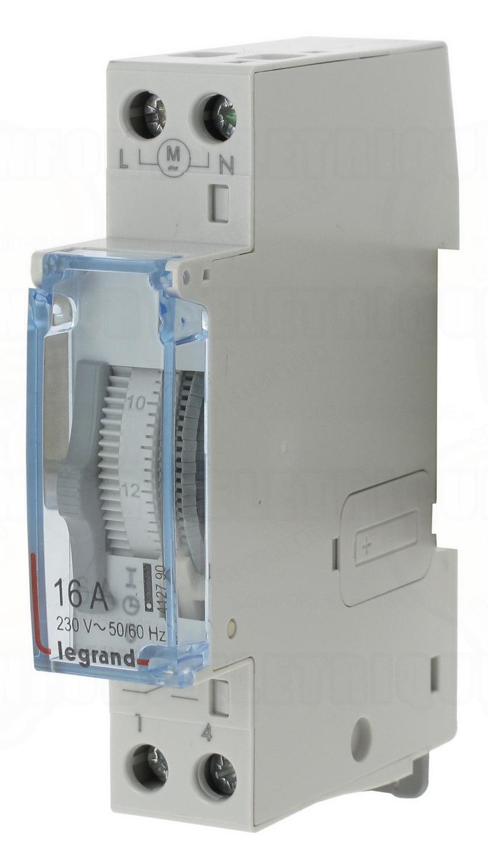 Horloge journali re 1 contact no legrand 412790 100 83 - Horloge chauffe eau ...
