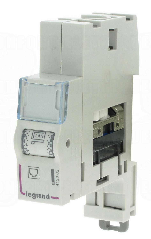 module de brassage rj45 cat 6 ftp legrand 18 19