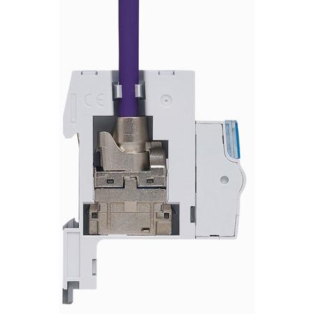 module de brassage rj45 coffret multim dia optimum legrand