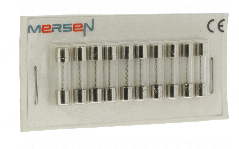 10 Fusibles en Verre 5 x 20 mm Temporise Puissance 1,5 Ampére