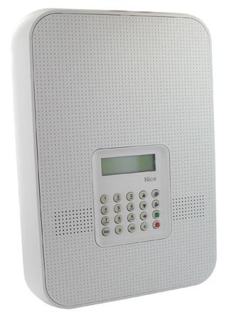 centrale d 39 alarme nice sans fil avec transmetteur rtc et gsm. Black Bedroom Furniture Sets. Home Design Ideas