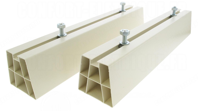 support au sol pour groupe de climatisation 45 cm 150kg 12. Black Bedroom Furniture Sets. Home Design Ideas