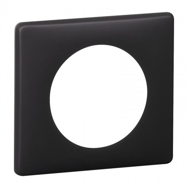 plaque legrand c liane 1 poste basalte 4 85. Black Bedroom Furniture Sets. Home Design Ideas