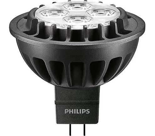 ampoule led philips master ledspotlv d gu5 3 7w 40. Black Bedroom Furniture Sets. Home Design Ideas
