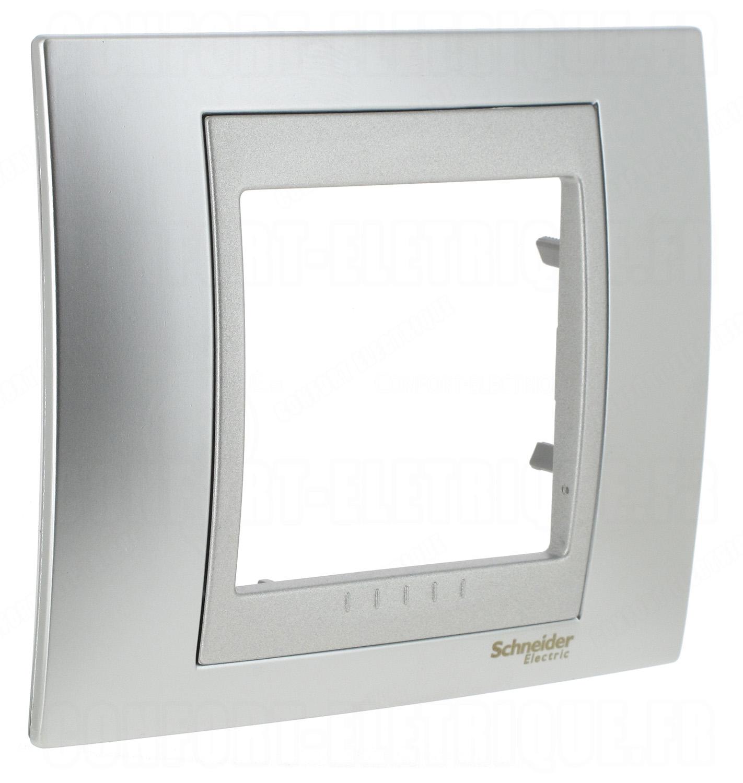Support simple à vis 1 poste Unica Schneider MGU7.002