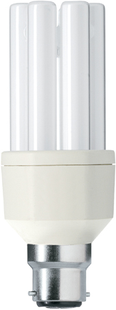 ampoule fluocompacte philips master pl electronic b22 15. Black Bedroom Furniture Sets. Home Design Ideas