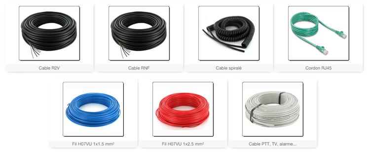 /PVC/ 10/m c/âble de simple fil flexible/ /h07/V H07/V-K 1,5/mm/²/ /Couleur: Bleu fonc/é 10/m
