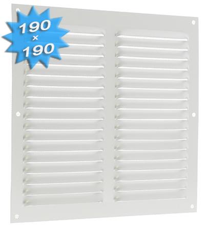 Grille de ventilation en aluminium 190x190mm 11 21 - Grille de ventilation aluminium ...