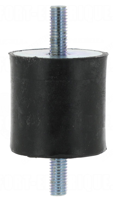 silent bloc cylindrique pour climatisation max 300kg 19. Black Bedroom Furniture Sets. Home Design Ideas