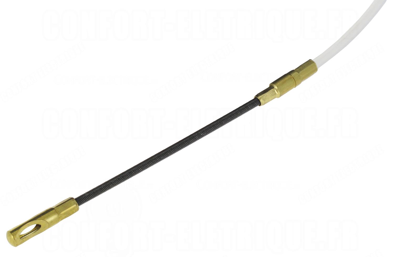 Aiguille long 10m en nylon pour tirage de cable 53 38 - Tirage de cable ...
