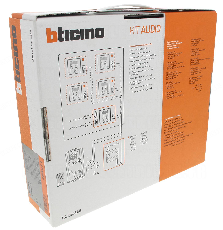 Branchement Schema De Cablage Interphone Bticino 2 Fils