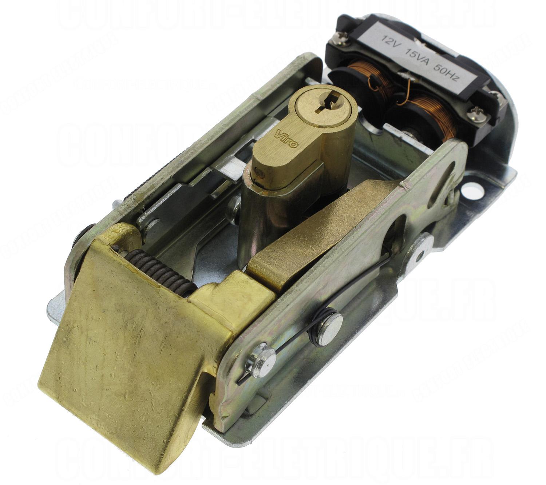 Serrure Electrique Came Lock81 Avec Cylindre Simple 141 10