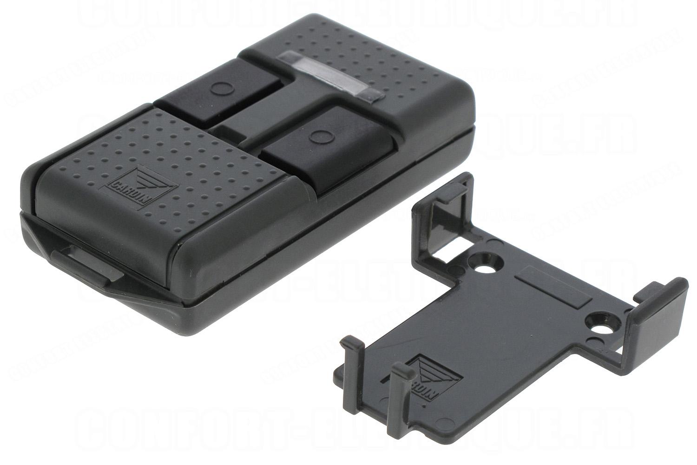 Telecommande cardin fr quence mhz 2 canaux s466 tx2 for Bip garage cardin