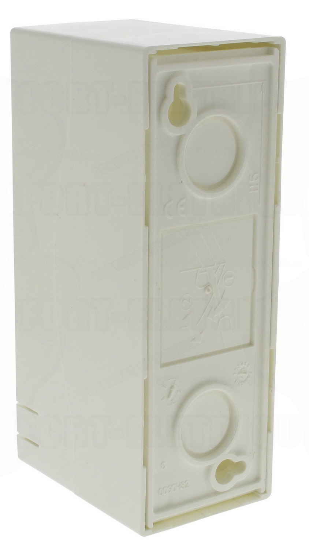 coffret legrand ekinoxe cache bornes 2 modules poser en sa. Black Bedroom Furniture Sets. Home Design Ideas