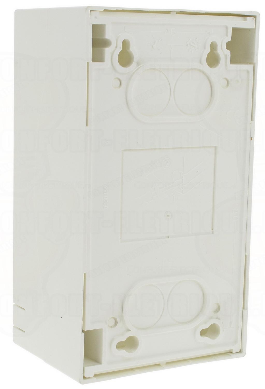 coffret legrand ekinoxe cache bornes 1 x 4 modules poser e. Black Bedroom Furniture Sets. Home Design Ideas