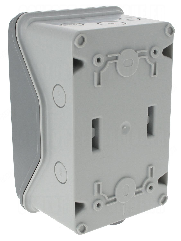 coffret legrand plexo 1x4 modules ip 65 ik09 gris 46 9. Black Bedroom Furniture Sets. Home Design Ideas