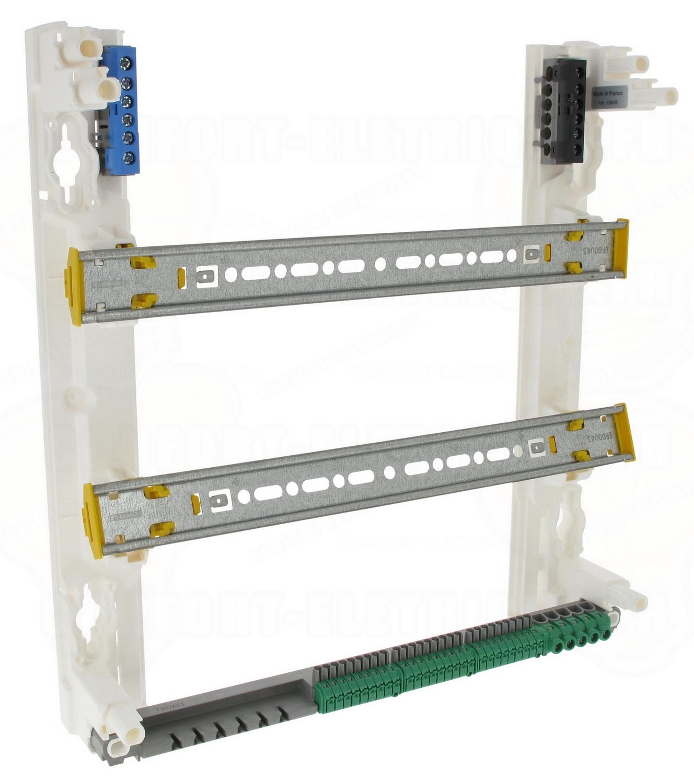 coffret legrand drivia 2 x 18 modules poser en saillie 7. Black Bedroom Furniture Sets. Home Design Ideas
