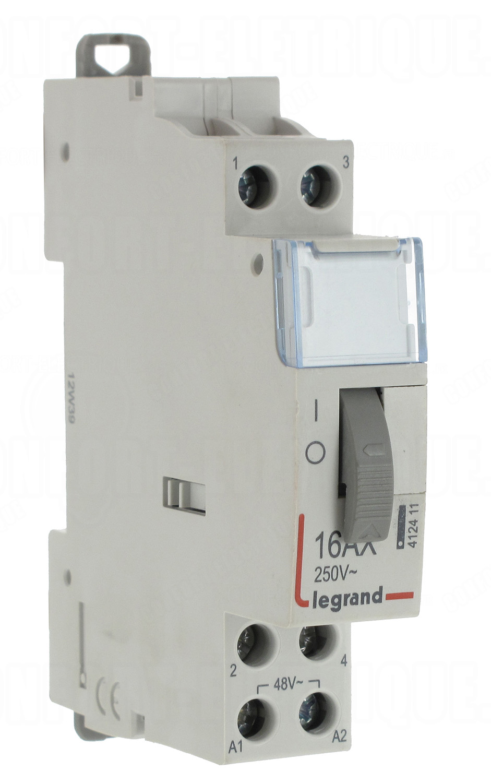 LEGRAND T/ÉL/ÉRUPTEUR STANDARD /À VIS 2 NO 16 A 230 V~ LEGRAND LEG 412412