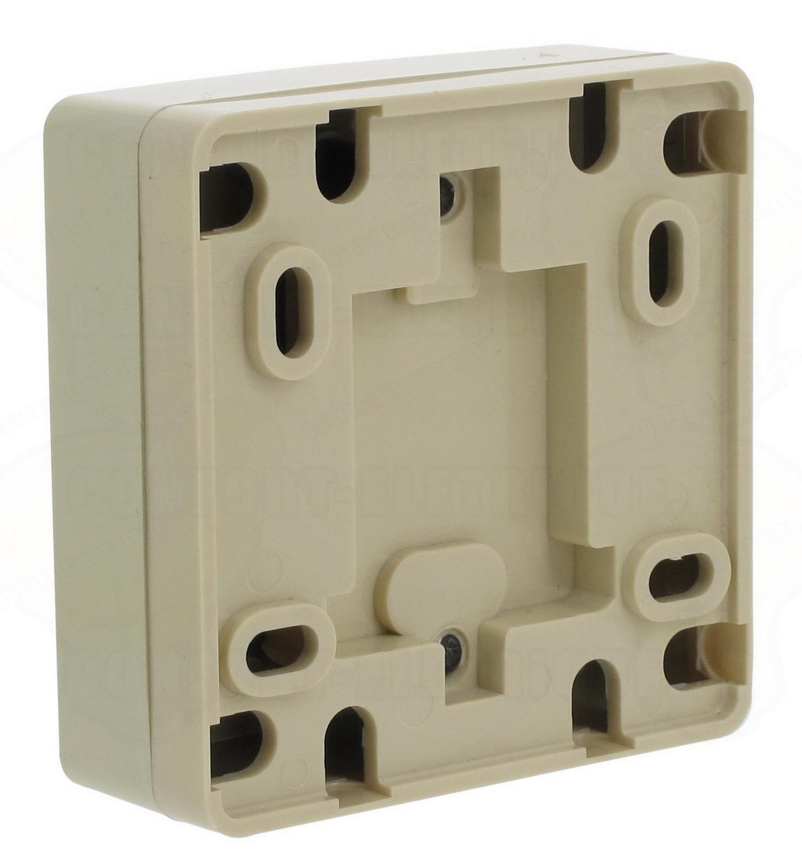 prise t l phone femelle poser en saillie 9 86. Black Bedroom Furniture Sets. Home Design Ideas