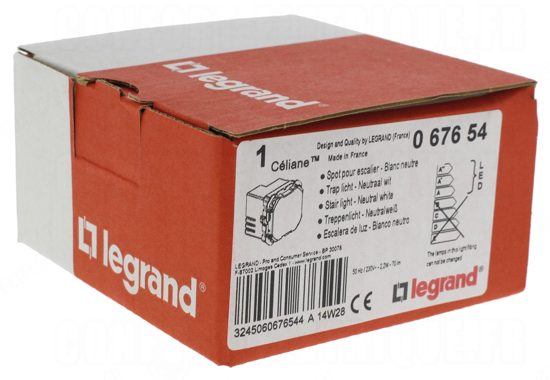 Spot De Balisage A Led D Escalier 2 2 Watts 70 Lm Legrand Ce