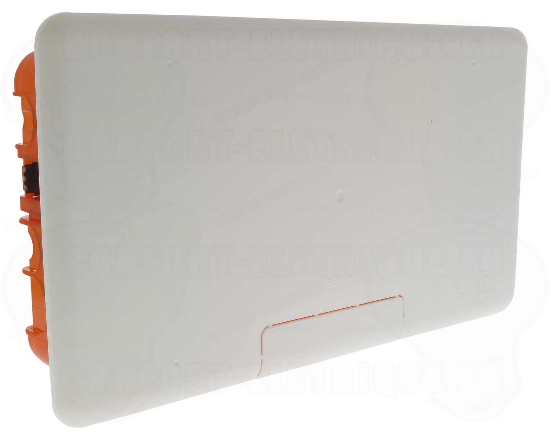 boite multi-mat/ériaux multim/édia 2 x 5 modules legrand batibox