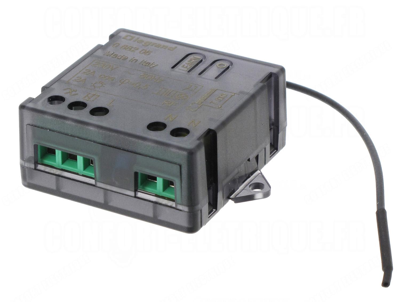 Interrupteur r cepteur micro module radio legrand c liane for Interrupteur exterieur legrand
