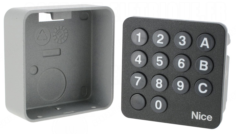 clavier code nice edswg radio compatbile flor 137 70. Black Bedroom Furniture Sets. Home Design Ideas