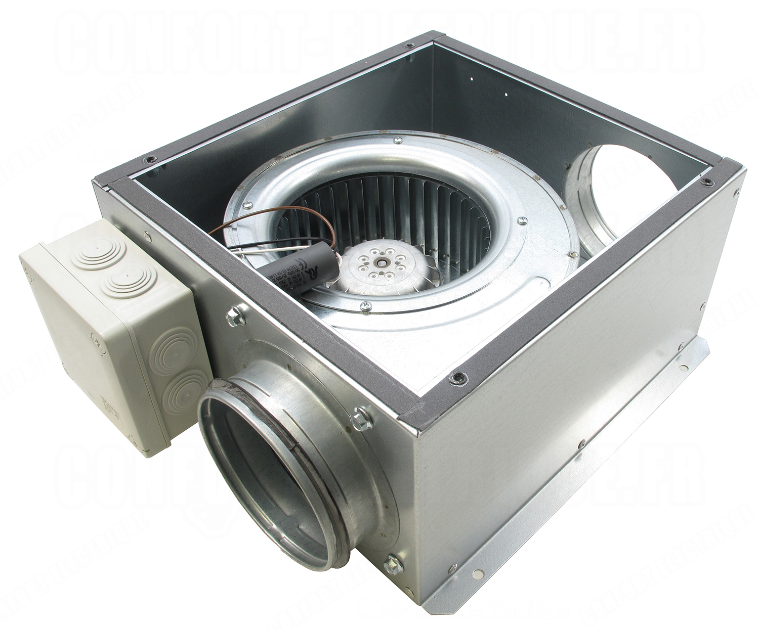 Affordable Gallery Of Caisson Extraction Et Extra Plat Mh Unelvent Catb  With Extracteur D Air Unelvent With Sp Unelvent