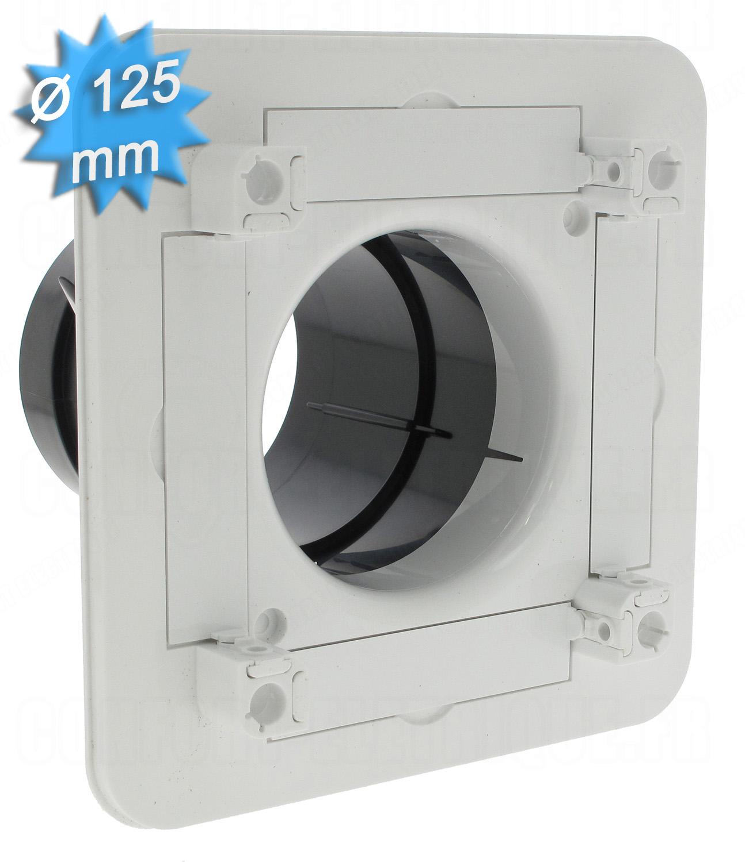 Bouche d 39 extraction ou insufflation diam tre 125mm s rie bdo - Bouche d extraction ...