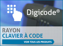 Rayon clavier à code
