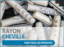 Rayon cheville